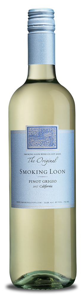 Smoking Loon Pinot Grigio bottle