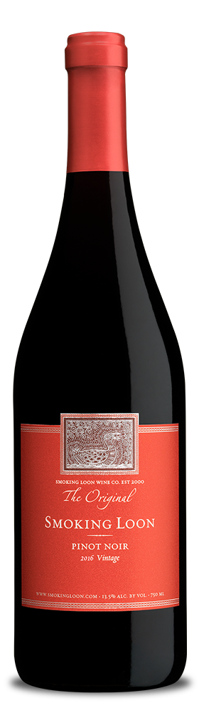Smoking Loon Pinot Noir bottle