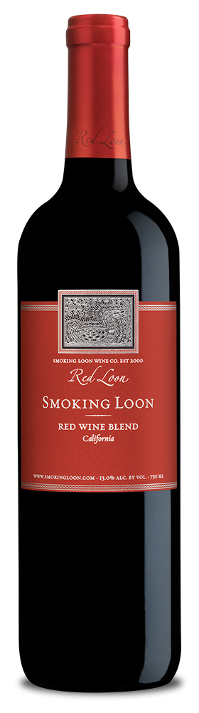 Smoking Loon Red Wine Blend bottle
